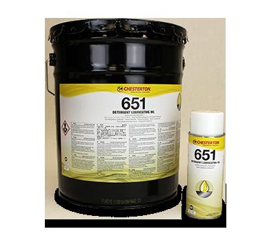 651 Aceite Lubricante y Detergente
